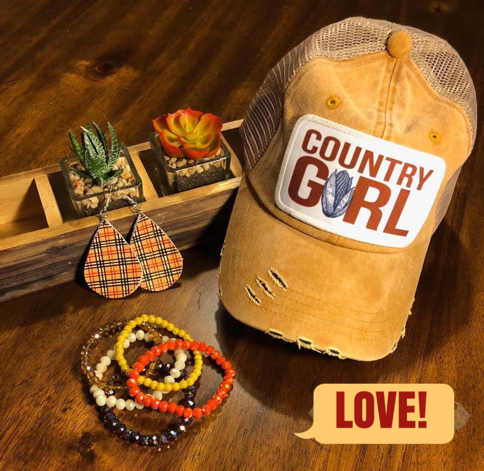 Country Girl Cap *Final Sale*
