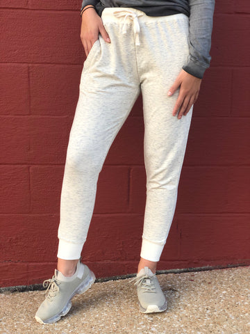 Heavenly Heathered Joggers