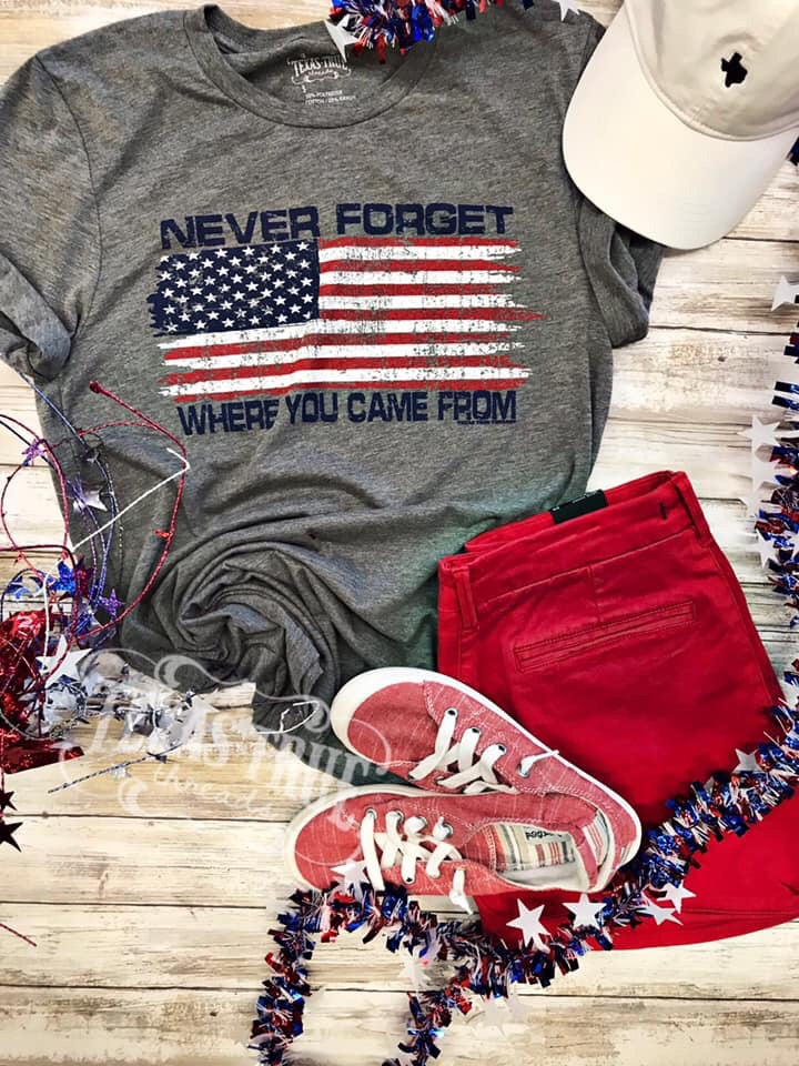 Never Forget Flag Tee