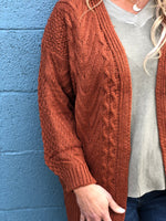 Cable Cozy Cardigan Final Sale