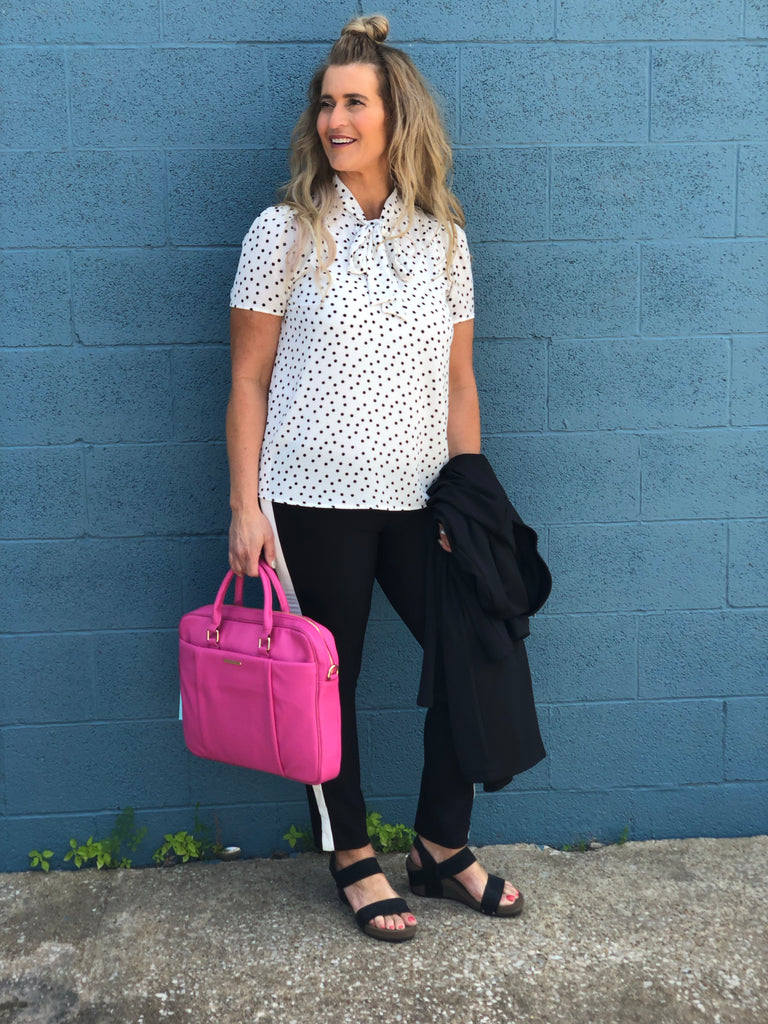 Lil Bit Of Dots Top final sale