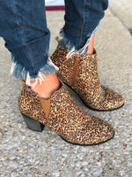 FINAL SALE Mini-Cheetah Print Bootie