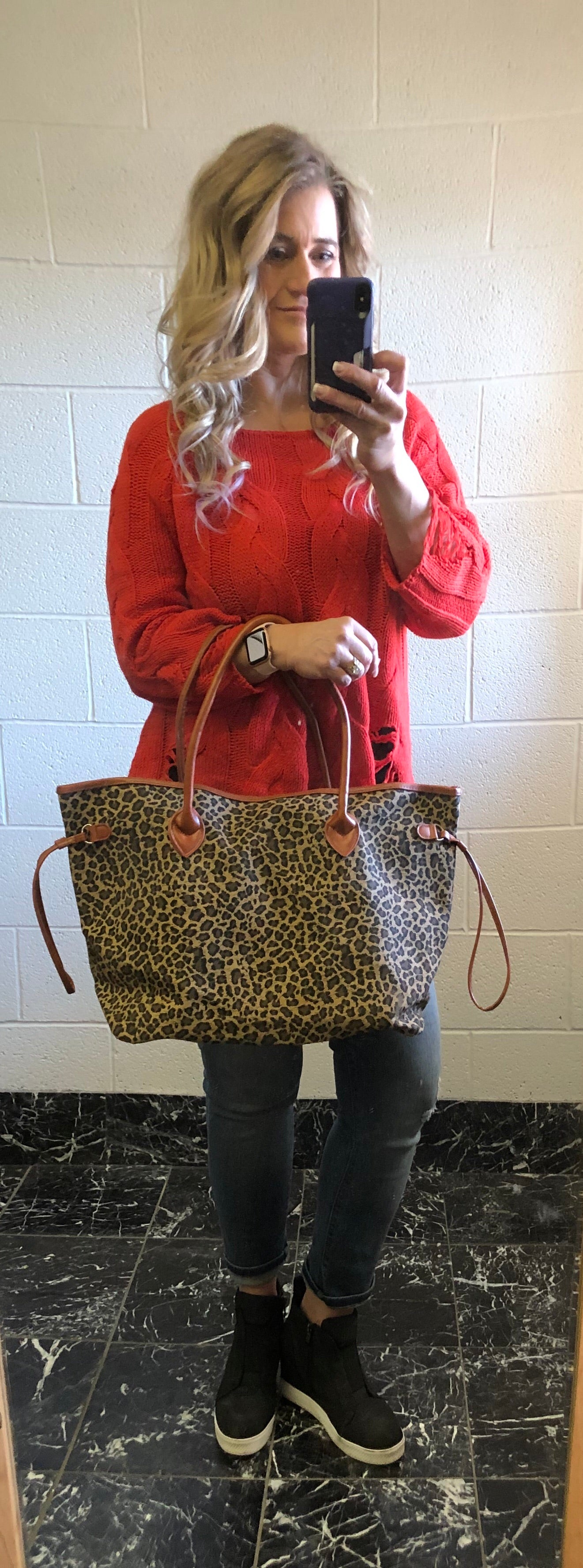 Cheetah Oversized Bag