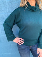 Easy Going Cowl Neck Top