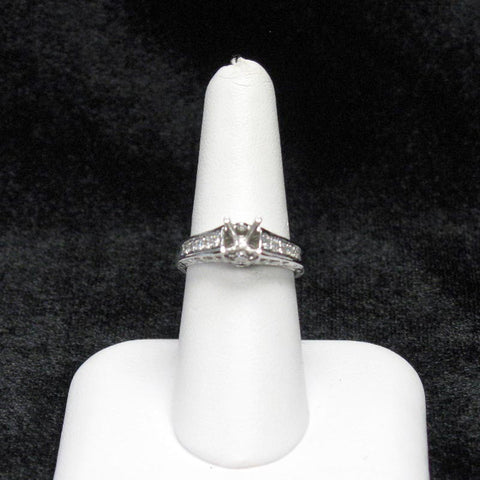 Natural Orange Diamond Ring 15-38