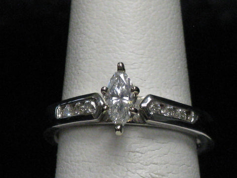 Marquise Diamond Solitaire 15-40