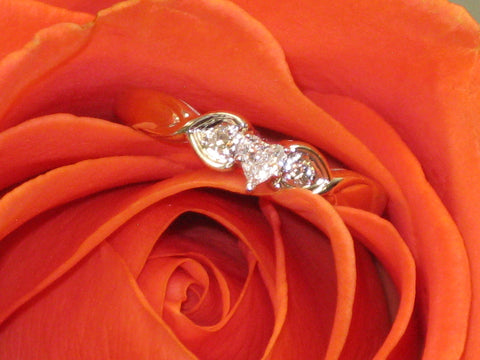 Heart Diamond Wedding Ring 15-304