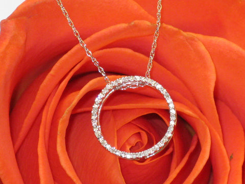 Circle Diamond Pendant 15-25g