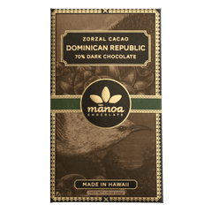 70% Zorzal Cacao, Dominican Republic Bar