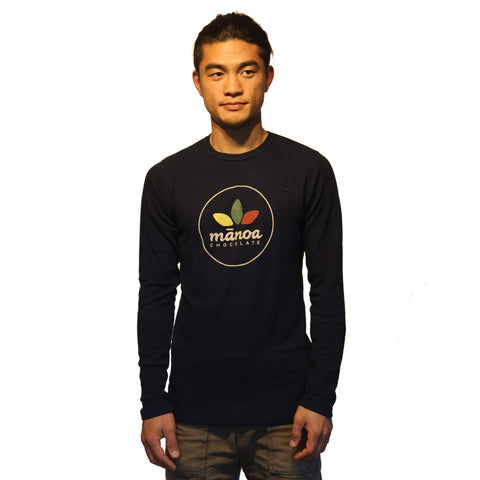 Men's Long Sleeve - Navy Blue