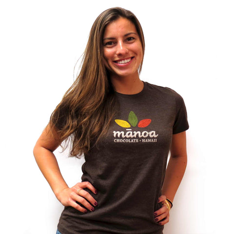Hawaii Women's T-Shirt Chocolate