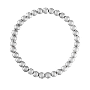 5MM Sterling Silver Ball Bracelet