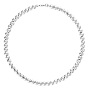 5MM Sterling Silver Ball Necklace