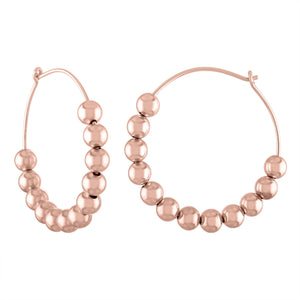 6mm Large Ball Hoop Earring