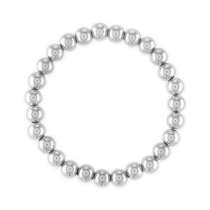 7MM Sterling Silver Ball Bracelet