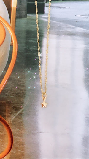 Baby Star Necklace