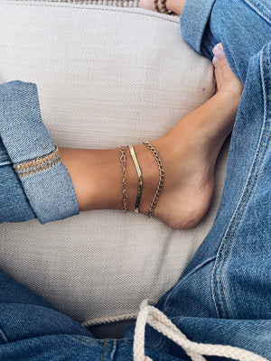 Big Curb Chain Anklet