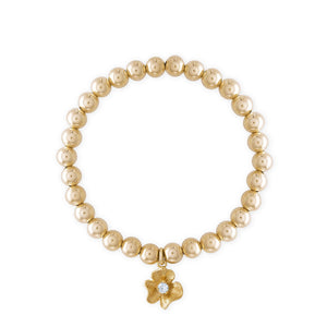 Golden Flower Bracelet
