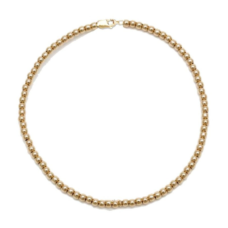 Kids Gold Ball Necklace