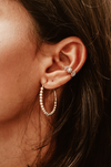 Medium Ball Hoop Earring