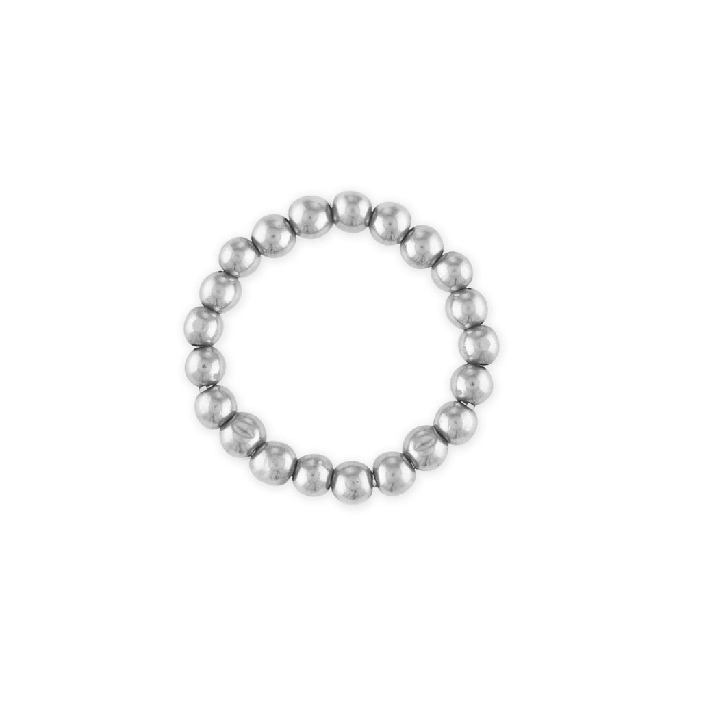 Sterling Silver Mini Ball Ring