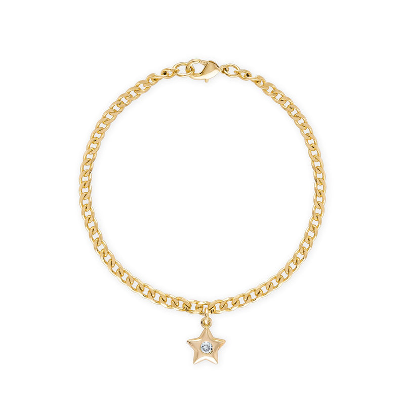 Star Mini Curb Bracelet
