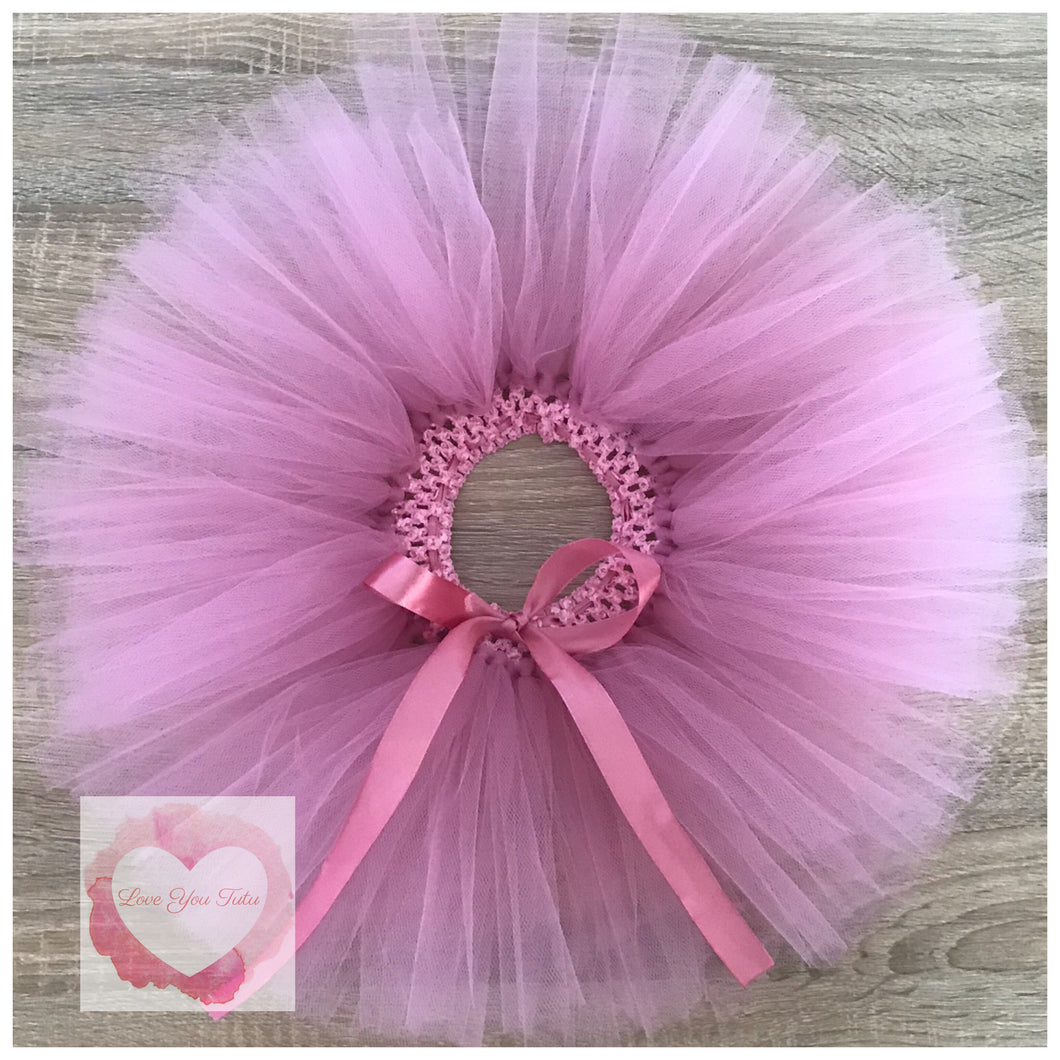 Dusty pink short Tutu skirt