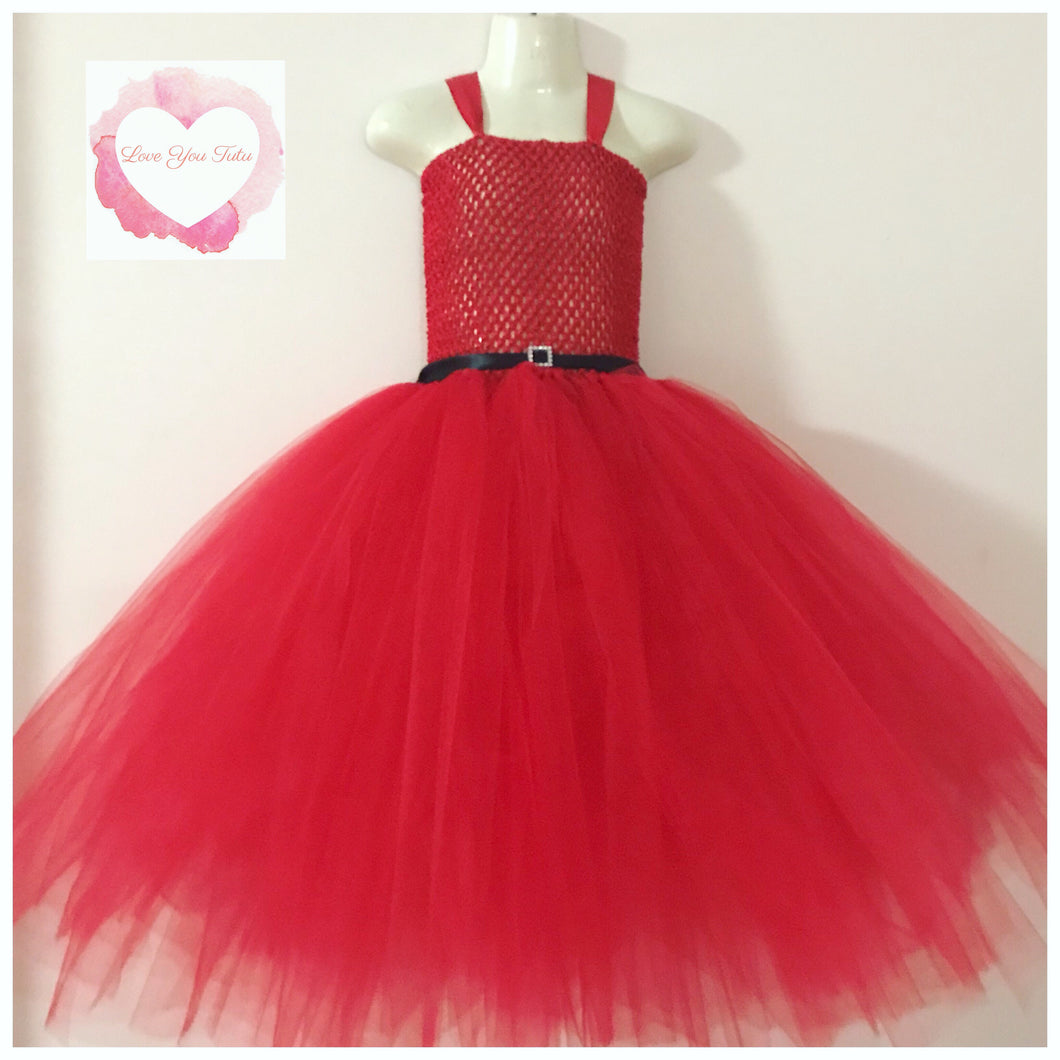 Red Christmas Tutu dress