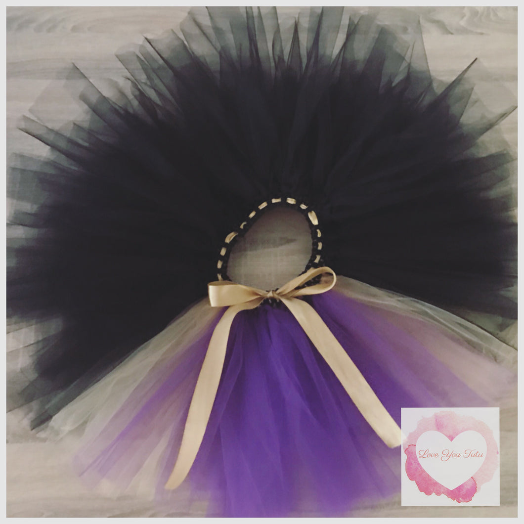 Evil Queen inspired short Tutu skirt