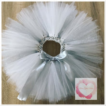 Load image into Gallery viewer, *Custom Embroidered tutu set with glitter/specialty tulle