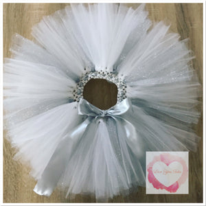 *Custom tutu set with glitter/specialty tulle