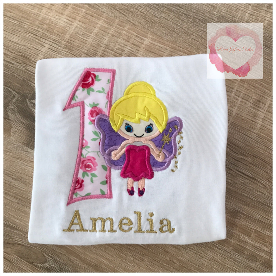 Embroidered Fairy design