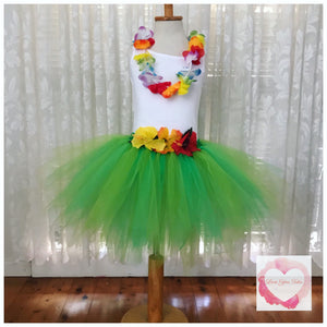 Hawaiian short Tutu skirt