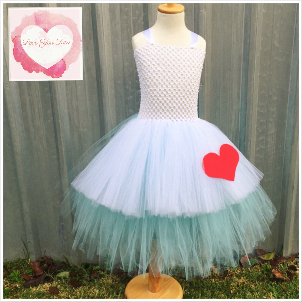 Alice inspired Tutu dress