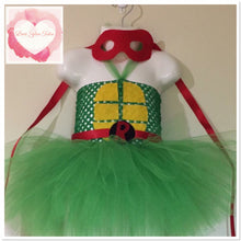 Load image into Gallery viewer, Ninja turtle inspired Tutu costume