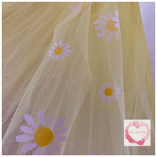 Load image into Gallery viewer, Lemon & daisies short Tutu skirt