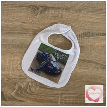 Load image into Gallery viewer, Personalised photo printed baby bib
