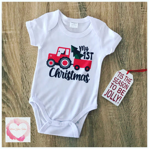 1st Christmas tractor design