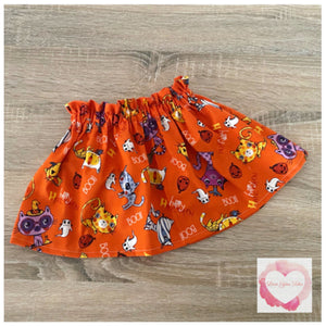 Mini Halloween paperbag skirt release various sizes -ready to ship
