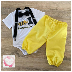 Bee 3 piece harem set