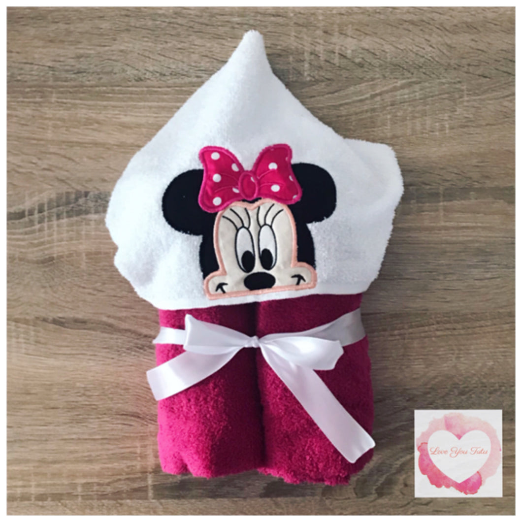 Character Hooded towels