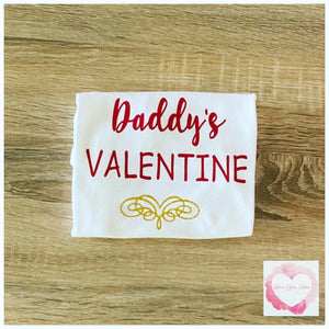 Daddy's Valentine design