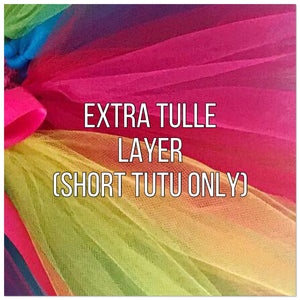 Extra tulle layer for short tutus only