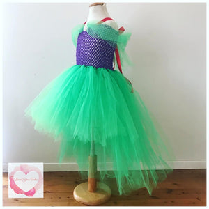 Little Mermaid hi low tutu dress