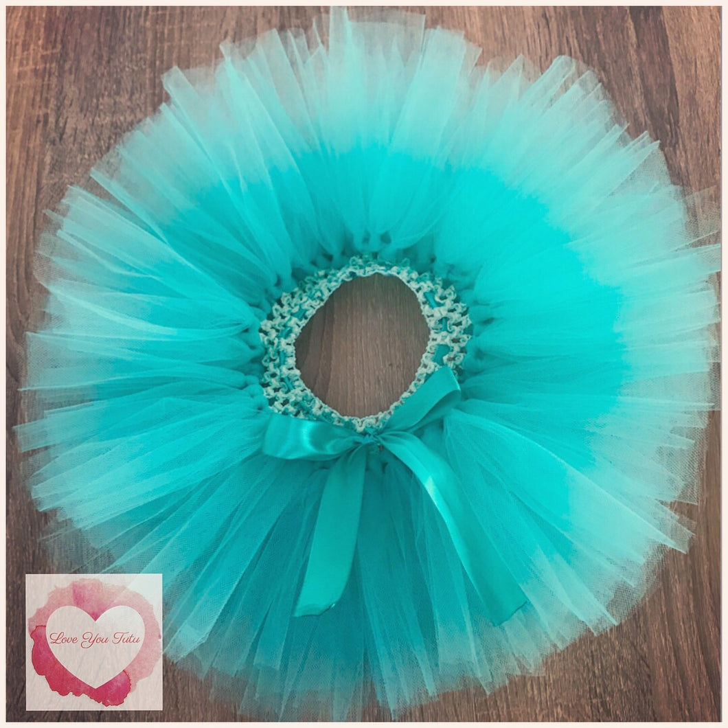 Dark Mint short Tutu skirt