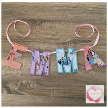 Load image into Gallery viewer, Embroidered Personalised bunting