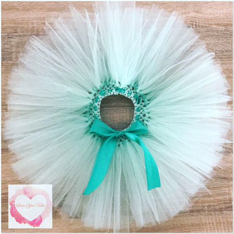 Mint short Tutu skirt