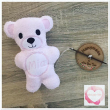 Load image into Gallery viewer, Personalised Teddy/memory bear stuffie