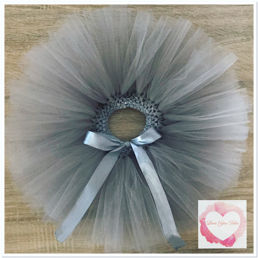 Grey short Tutu skirt