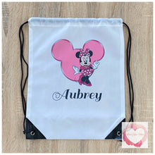 Load image into Gallery viewer, Personalised drawstring bag